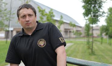 Один из лидеров российских болельщиков, Александр Шпрыгин.