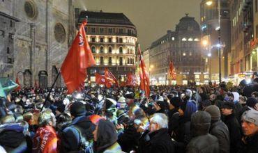 Viena: 20.000 de persoane au manifestat impotriva Guvernului