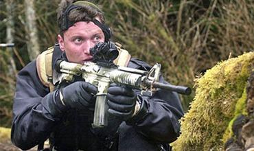 Бывший боец сил специального назначения ВМС США Мэтт Биссонетт.