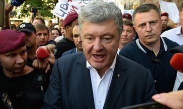 Экс-президент Украины Петр Порошенко.