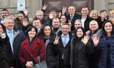 """ЦИК официально зарегистрировал """"Нашу партию"""" для участия в выборах."""