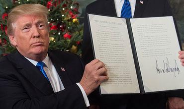"""По словам политика, решение Трампа признать Иерусалим столицей Израиля """"вызывает серьезную обеспокоенность""""."""