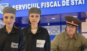 В налоговой службе прокомментировали протест сотрудников салона красоты.