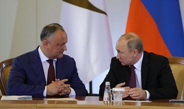 Додон намерен обозначить Путину свою позицию по Приднестровью.