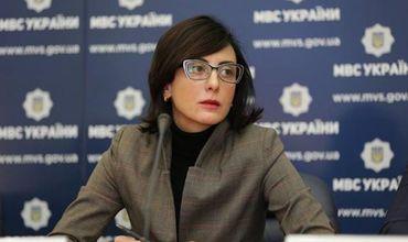Глава национальной полиции Украины Хатия Деконаидзе.