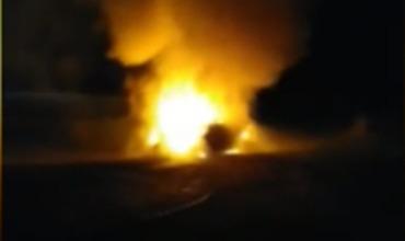 Сгоревший автомобиль у села Шерпены был взят в аренду