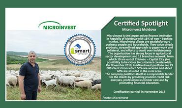 """Microinvest – единственная компания, прошедшая сертификацию """"Smart"""" ®"""