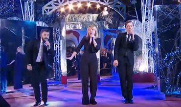"""Молдавские артисты исполнили песню """"My lucky day"""", выступая в """"музыкальной паузе"""" популярного интеллектуального шоу """"Что? Где? Когда?""""."""