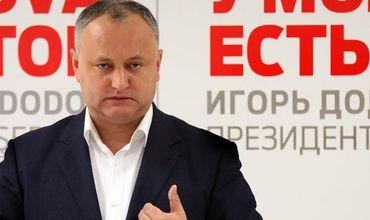 Председатель Партии социалистов, главный фаворит президентской гонки Игорь Додон.
