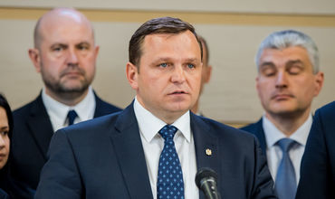 Председатель Партии Платформа Достоинство и Правда Андрей Нэстасе.