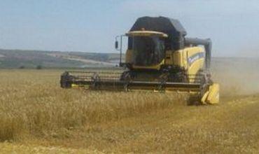 В Гагаузии началась уборка зерновых