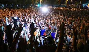 В Ереване протестующие начали блокировать центральные улицы. Фото: AP