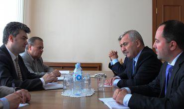 Вице-премьер Георге Бэлан провел встречу с главой румынского МИДа.