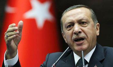 Турецкий президент Реджеп Тайип Эрдоган.