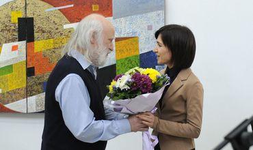 В столице открылась выставка работ художника Андрея Мудри