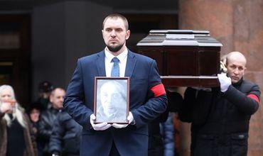 Сергея Юрского похоронили на Троекуровском кладбище.