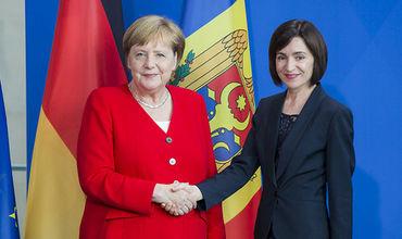 Вчера состоялась встреча Канцлера ФРГ Ангелы Меркель и премьер-министра РМ Майи Санду в Берлине.