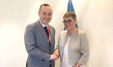Молдавская делегация в ПАСЕ встретилась с председателем Ассамблеи.