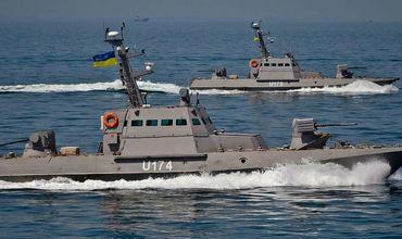 Украина провела военные учения в Азовском море.