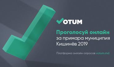 На Votum.md стартует онлайн-голосование в преддверии выборов в Кишиневе