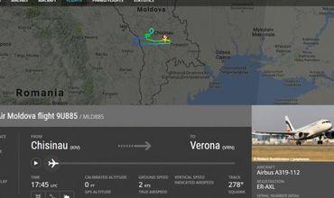 Aeronavă Air Moldova, întoarsă pe Aeroport la scurt timp după decolare