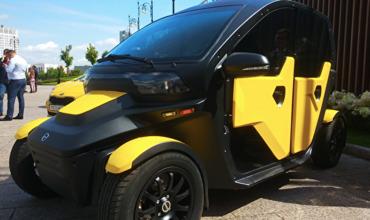 """Концерн """"Калашников"""" создал электромобиль для такси и каршеринга."""