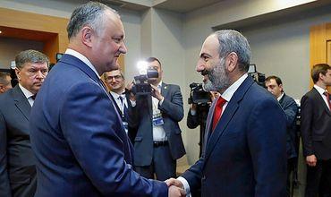 """""""Самой близкой страной к членству в Евразийском экономическом союзе можно считать Молдову"""", – заявил Пашинян."""