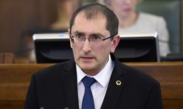 Латвийский министр Талис Линкайтс.