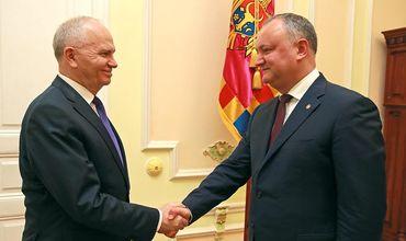 Додон: Молдова была и остается надежным партнером России