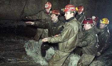 В этих шахтах собираются грунтовые и сточные воды.