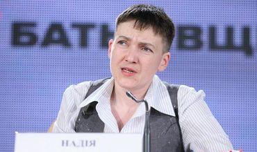 Надежда Савченко считает, что в Третьей мировой Украина будет просто полем боя