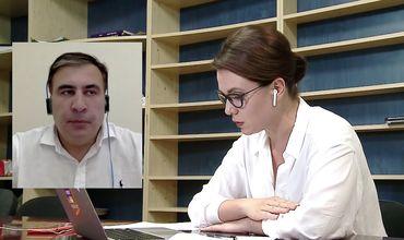 """Саакашвили: """"Плахотнюку придется сдаться"""""""