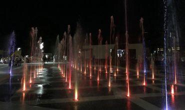 Появились первые кадры с поющим фонтаном в парке «Долина роз»