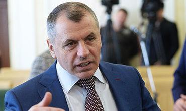 Глава парламента Крыма Владимир Константинов.