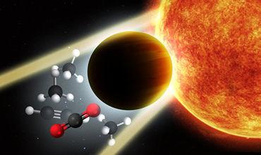 """Астрономы нашли планету с """"титановыми"""" облаками в атмосфере."""