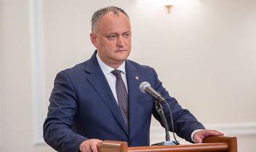 Додон: Отчёт Krol-II должен быть рассмотрен на следующем заседании ВСБ