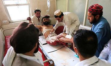 Ребенок-смертник устроил взрыв на свадьбе.