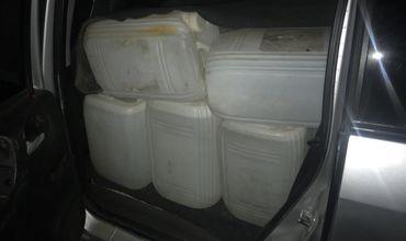 Таможенники изъяли более полутора тонн контрабандного алкоголя.