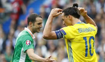 Ирландия и Швеция сыграли вничью в рамках Евро-2016