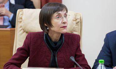 В парламенте обсуждалась инициатива Партии социалистов об отставке Корины Фусу с поста министра. Фото: ipn.md