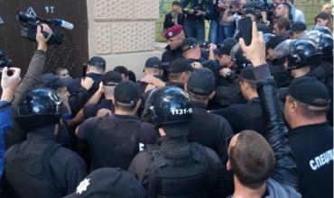 По данным полиции, в акции приняли участие 50 человек, она прошла без грубых нарушений общественного порядка.