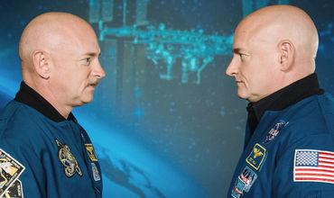 NASA: После года в космосе 7% генов астронавта изменились.
