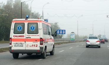 16-летняя жительница села Томай была доставлена в травматологическое отделение районной больницы в Чадыр-Лунге.