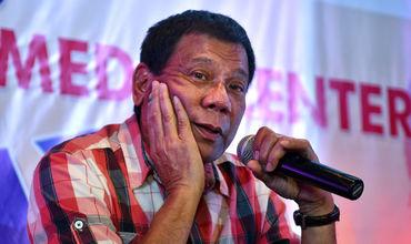 Preşedintele filipinez Rodrigo Duterte.