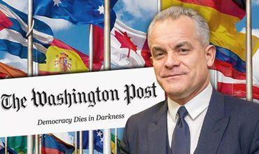 Washington Post: Вектор Плахотнюка зависит от его личных интересов