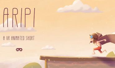 В кинотеатре Patria состоялась закрытая премьера VR мультфильма «ARIPI»