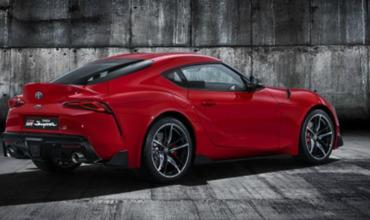 Новую Toyota Supra показали на официальных фото.