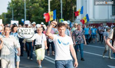Кишиневцев призывают на новый протест в связи с непризнанием выборов