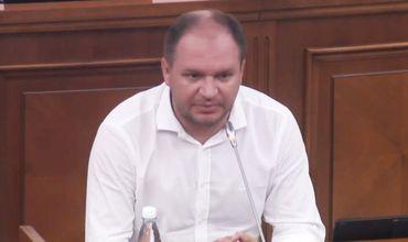 Вице-председатель парламента Ион Чебан.