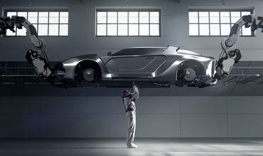 Hyundai разработала сверхлегкий роботизированный экзоскелет